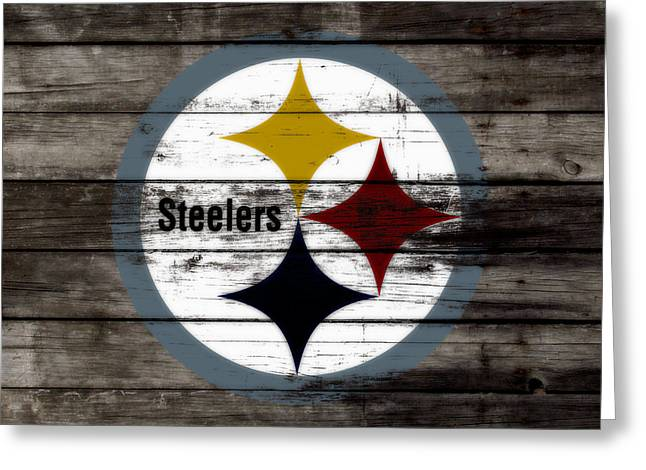 The Pittsburgh Steelers W7 Greeting Card