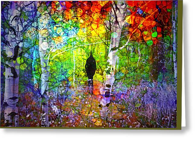 The Places We Have Been Together Greeting Card by Tara Turner