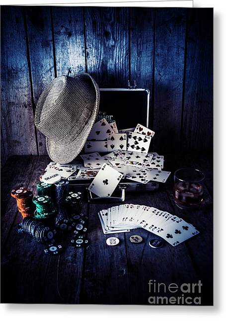 The Poker Ace Greeting Card