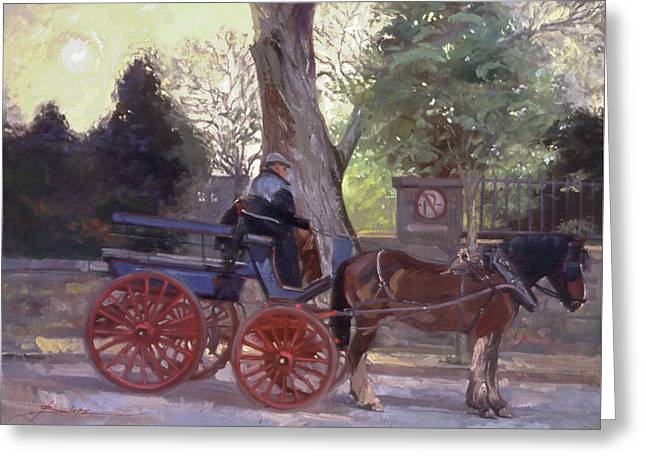 The Pony Trappe Greeting Card