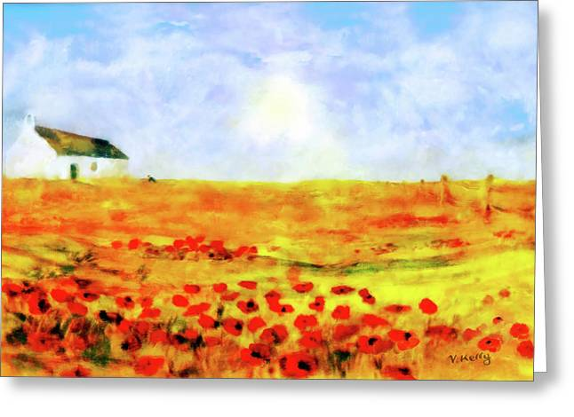 The Poppy Picker Greeting Card