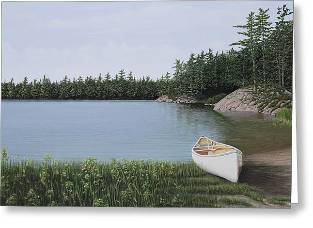 The Portage Greeting Card