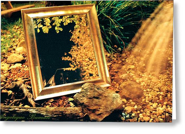 Greeting Card featuring the photograph The Portal by Angelique Bowman