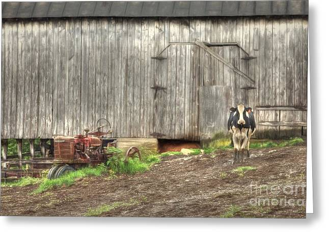 The Poser Greeting Card by Benanne Stiens