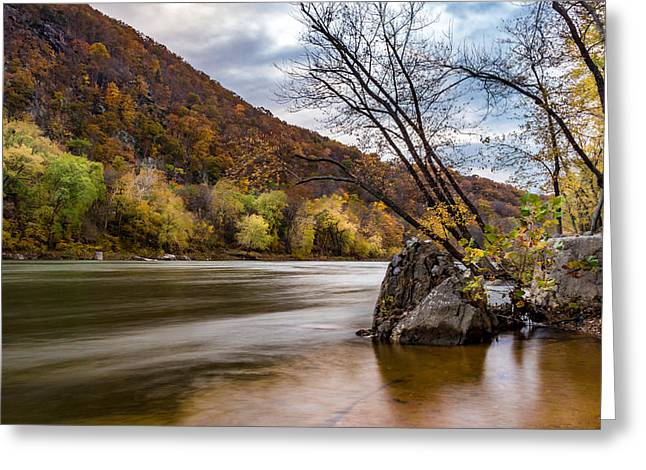 The Shenandoah In Autumn Greeting Card