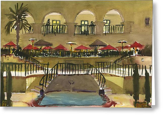 The Prado Restaurant Greeting Card