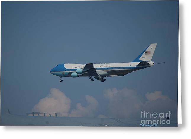 The President's Aircraft Greeting Card