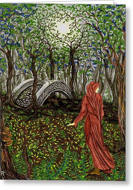 The Priestess Of Ealon Greeting Card