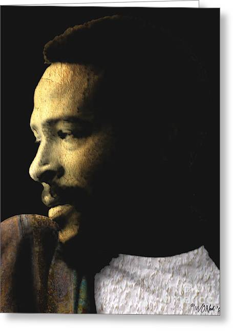 The Prince Of Soul - Marvin Gaye Greeting Card
