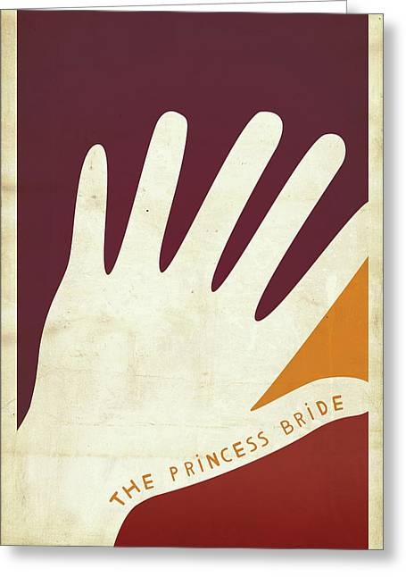 The Princess Bride Greeting Card by Megan Romo