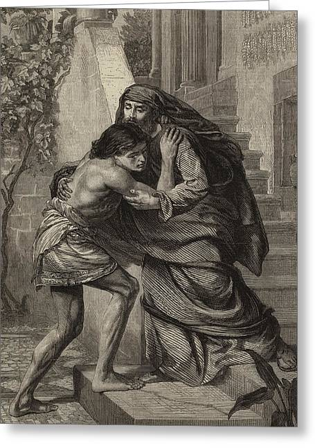 The Prodigal's Return Greeting Card by Sir Edward John Poynter