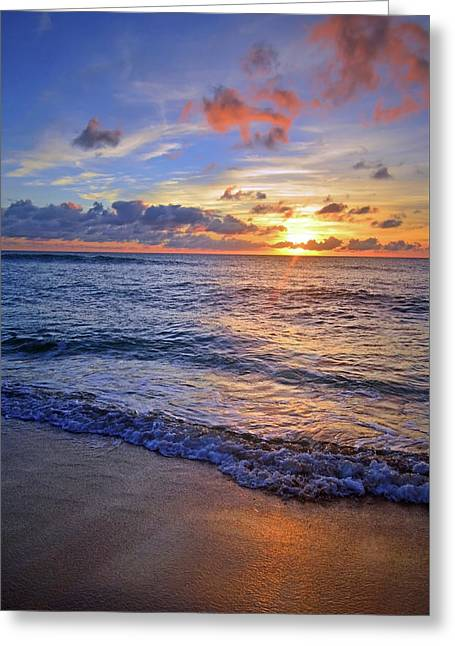 Greeting Card featuring the photograph The Promise Of A New Day by Tara Turner