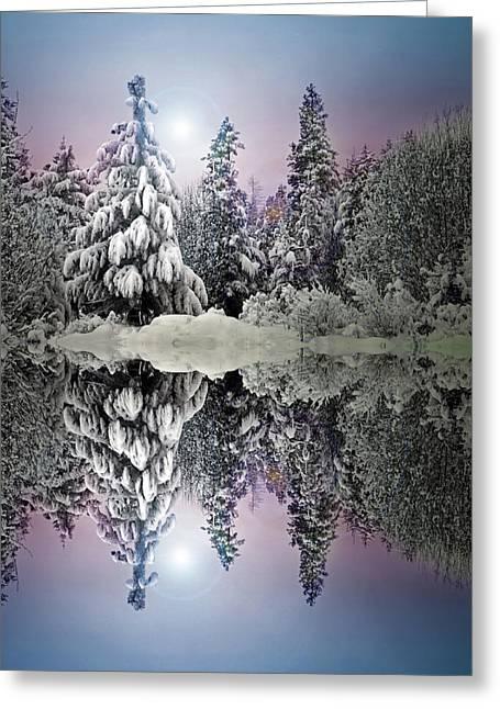 The Promises That Winter Brings Greeting Card by Tara Turner
