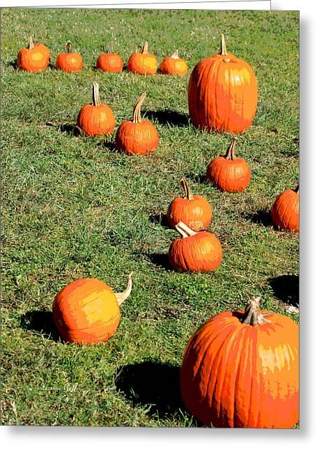 The Pumpkin Patch II Greeting Card