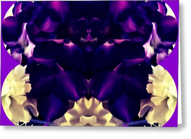 The Purple Man Dance Greeting Card