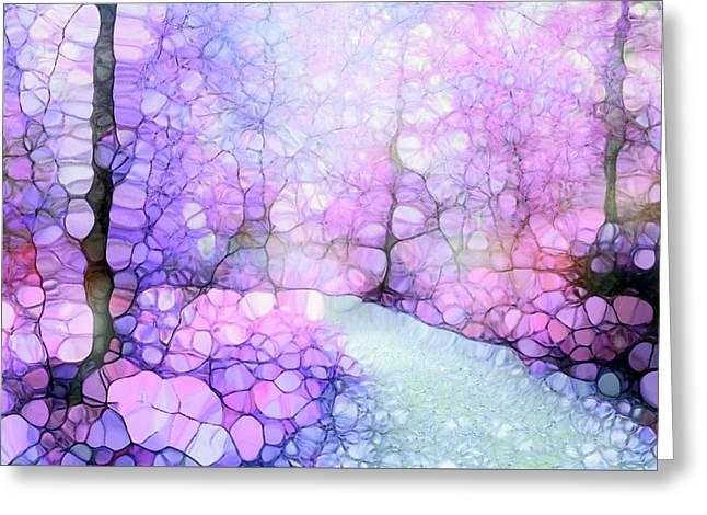 The Purple Path Greeting Card