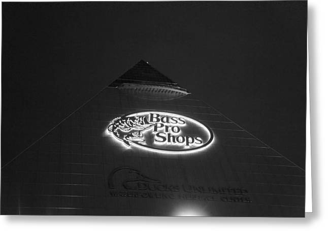 The Pyramid Arena, Memphis, Tn Greeting Card by Art Spectrum