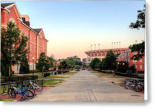 The Quad Greeting Card by JC Findley
