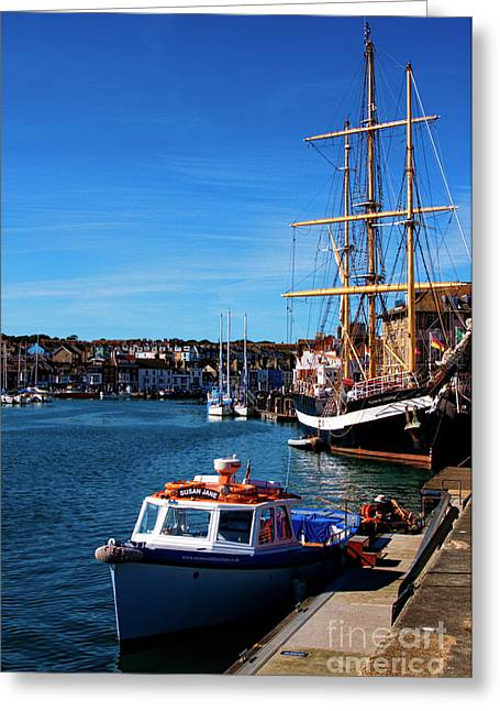 The Quayside  Greeting Card