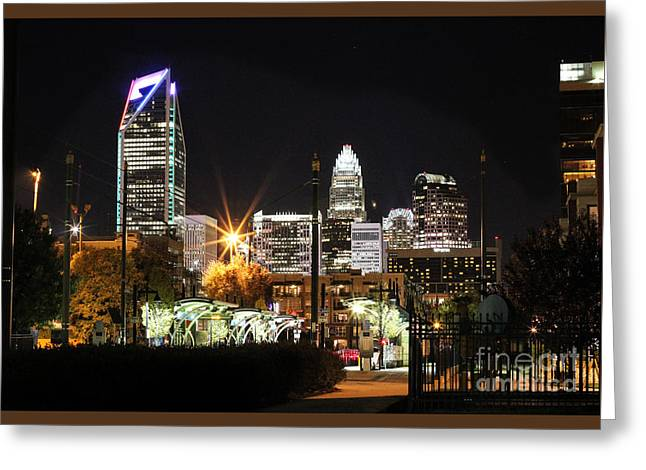 The Queen City Greeting Card by Robert Yaeger