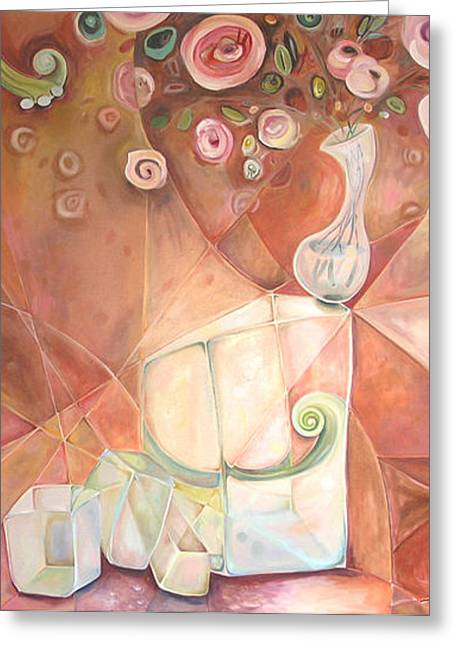 The Queens Sculpture II Greeting Card by Jenna Fournier