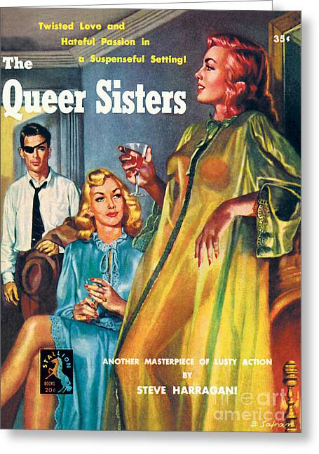 The Queer Sisters Greeting Card