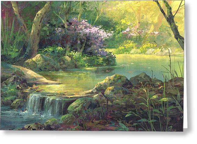 The Quiet Creek Greeting Card