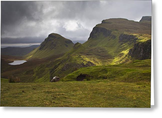 The Quiraing Isle Of Skye Scotland Greeting Card