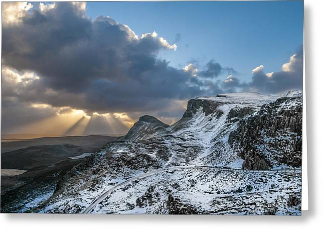 The Quiraing Just After Dawn Greeting Card