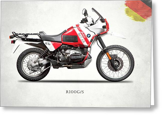 The R100gs Greeting Card by Mark Rogan