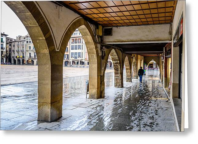 The Rain In Spain Greeting Card