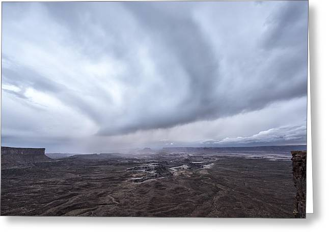 The Rain Keeps Coming Greeting Card by Jon Glaser
