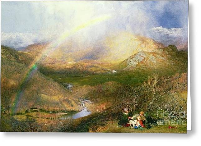 The Rainbow Greeting Card by MotionAge Designs