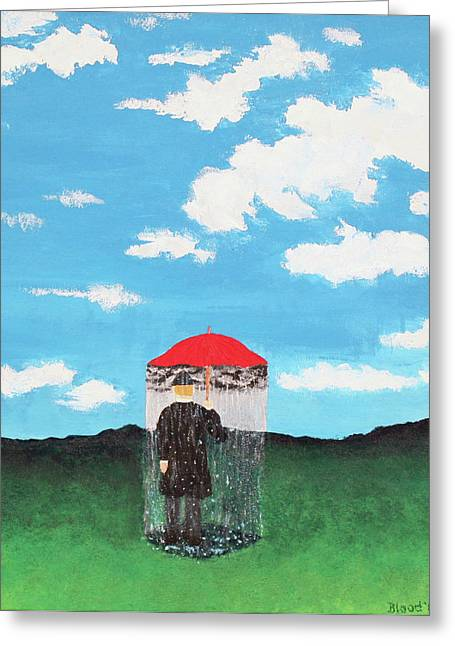 The Rainmaker Greeting Card