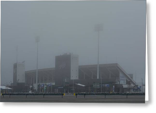The Ralph In The Fog Greeting Card by Guy Whiteley