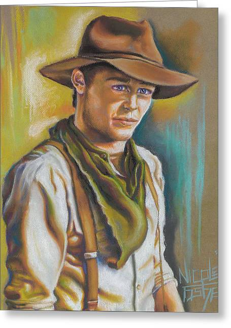 The Ranch Hand  Greeting Card by Nicole Fisher