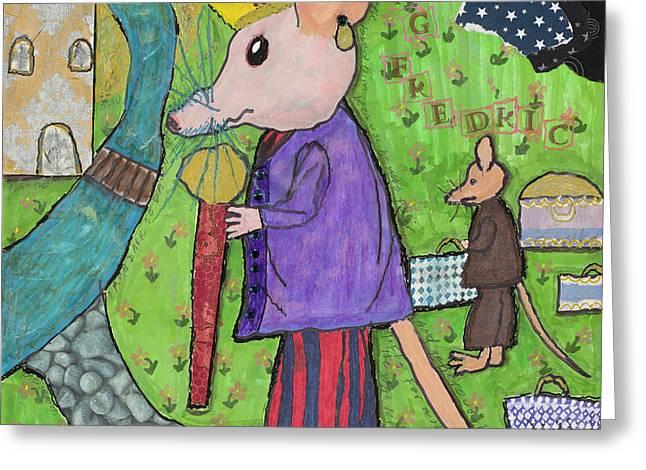 The Rat King Greeting Card