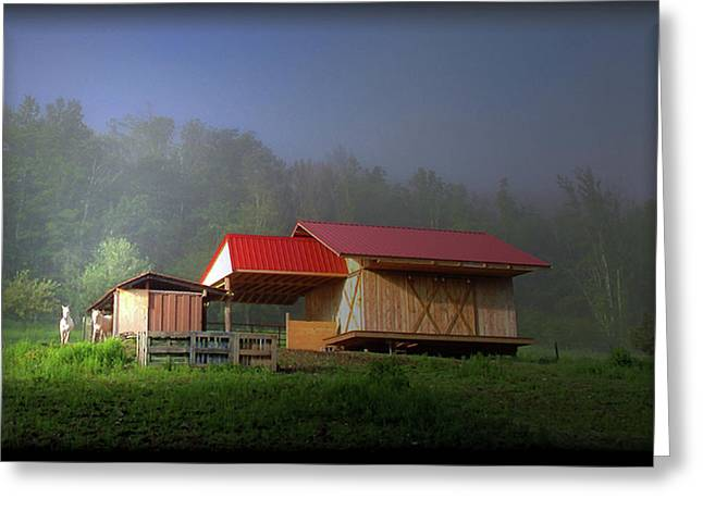 The Real Barn Girls Greeting Card by Patricia Keller