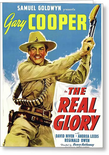 The Real Glory 1939 Greeting Card by Mountain Dreams