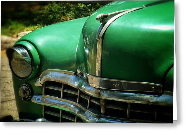 The Real Green Machine Greeting Card by Connie Handscomb