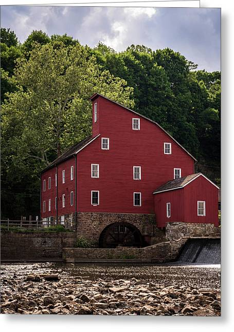 The Red Mill New Jersey Greeting Card by Terry DeLuco