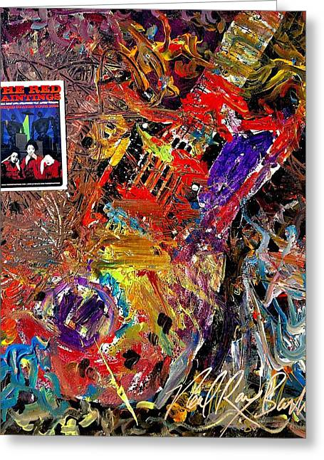 The Red Paintings Greeting Card