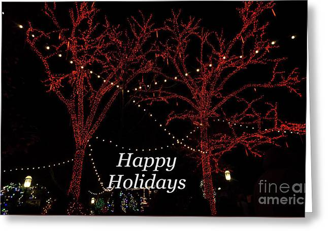 The Red Pair Greetings Greeting Card by Jennifer White