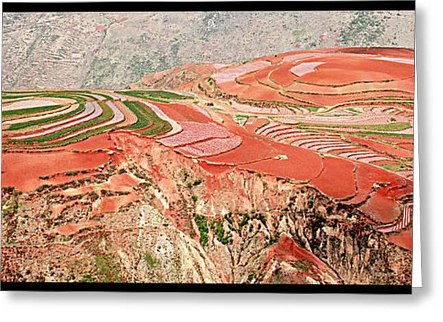 The Redlands, Yunnan, China Greeting Card