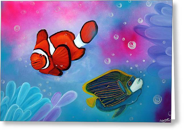 The Reef Greeting Card