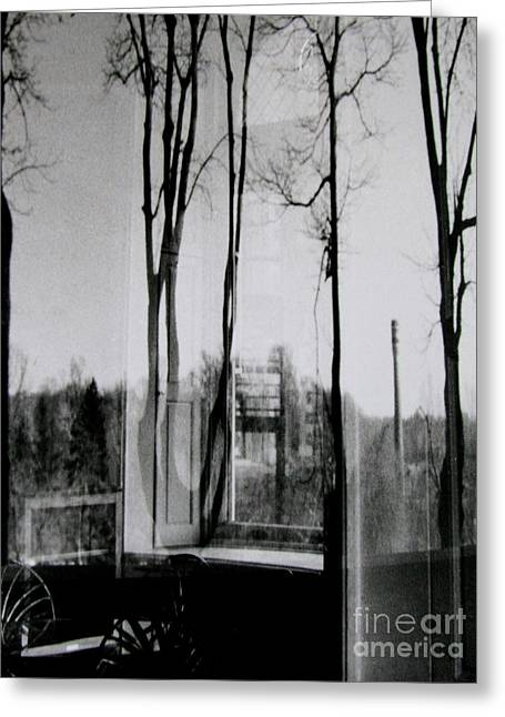 The Reflecting Room Greeting Card