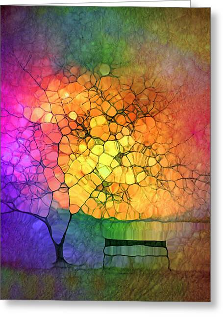 The Resting Place For Lost Dreams Greeting Card by Tara Turner