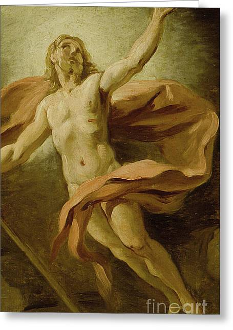 The Resurrection, 1739  Greeting Card