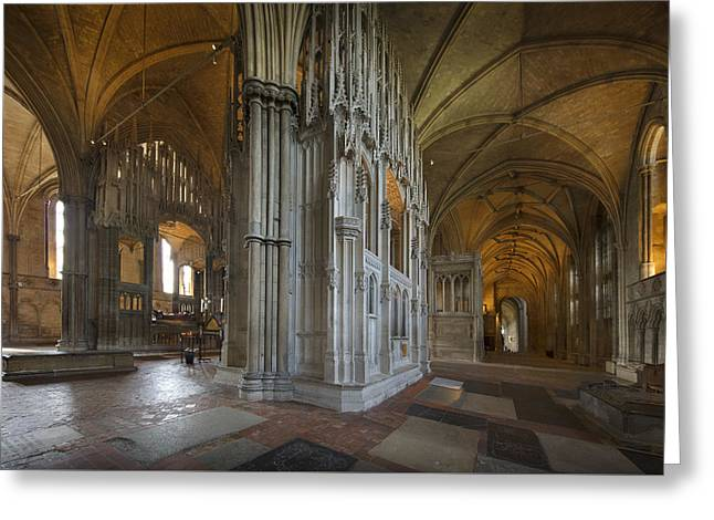 Greeting Card featuring the photograph The Retroquire And The Chantry by Richard Wiggins
