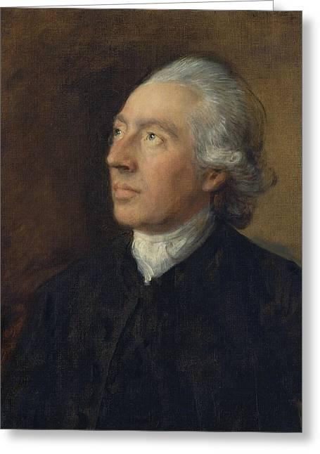 The Rev Humphry Gainsborough Greeting Card by Thomas Gainsborough